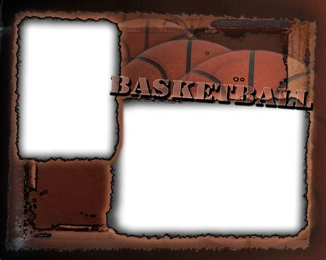 memory mate templates basketball photo templates
