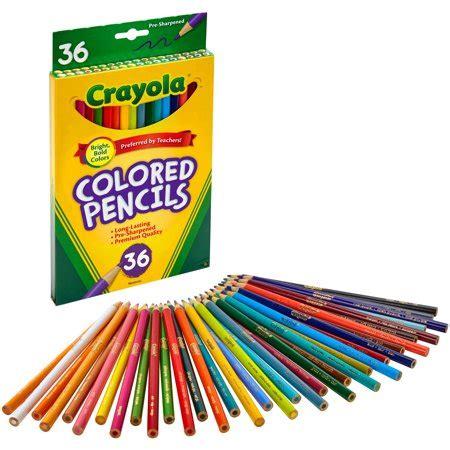 crayola color pencils crayola colored pencils crayons and washable markers