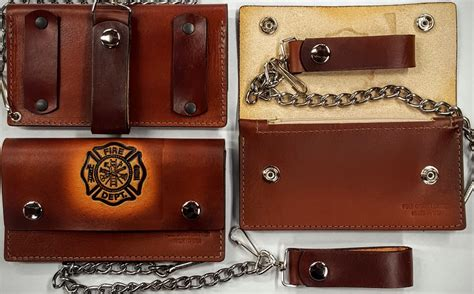 Handmade Leather Wallets Made In Usa - fd leather wallet with chain handmade leather wallets