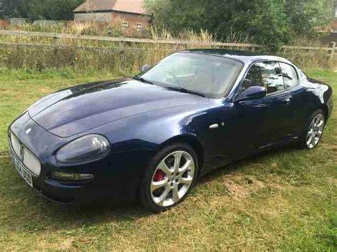 maserati cambiocorsa maserati 2004 coupe cambiocorsa blue car for sale