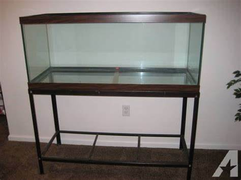 55 Gallon Fish Tank and Stand for Sale in Bayville New Jersey
