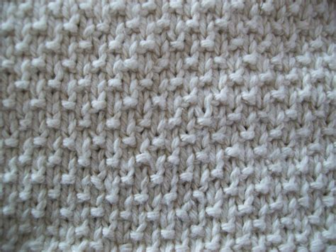 About Knitting Sand Stitch