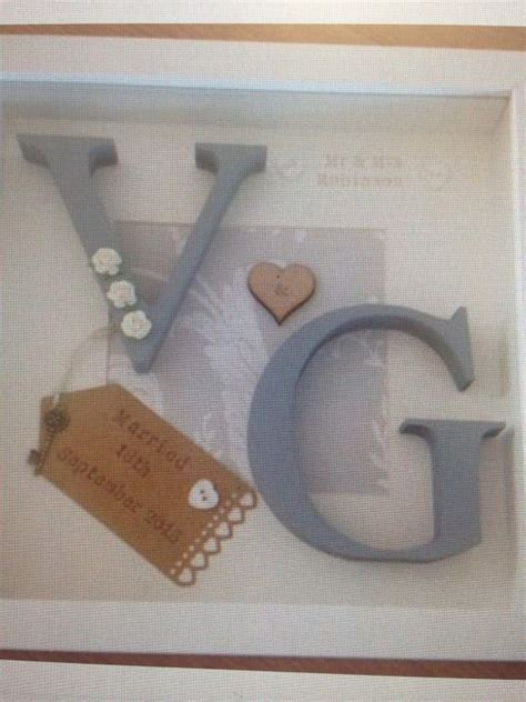Wedding Box Frame by Personalised Box Frame Gift Ideal For Weddings By