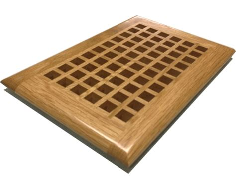 100 Floors Egg Drop - white oak egg crate grates and grills self wood