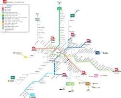 Comptoir Général Horaires by Plan De Metro Rome Subway Application