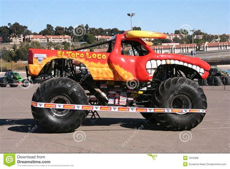 monster truck show san diego el toro loco monster truck editorial photo image 7816286