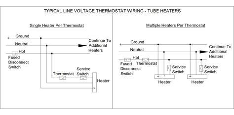 line voltage thermostat wiring diagram 38 wiring diagram