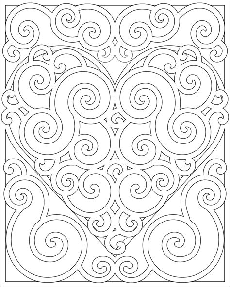 swirl pattern coloring pages coloring pages