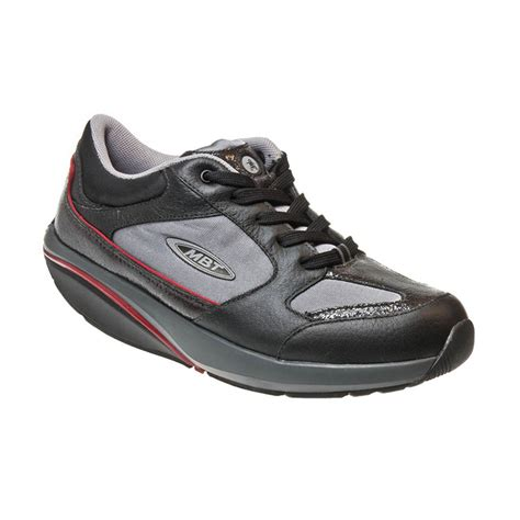 mbt shoes women c mbt moja lux leather cuir and textile silver black womens