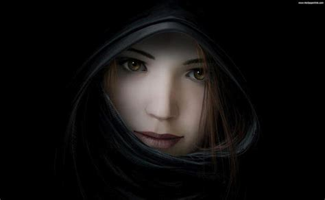 wallpaper dark girl cute girl in dark the sensational shahbano photo