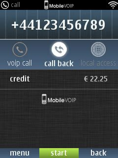 mobile voip discount use your regular voip credit on your symbian nokia phone