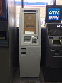 Bitcoin Atm Bitcoin Atm In Inkster Marathon Gas Station