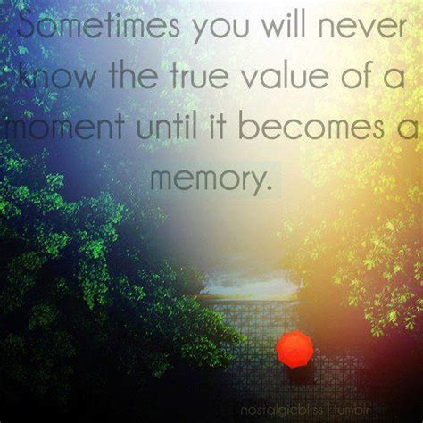 memories quotes dr seuss sometimes you will never know the true value of a moment