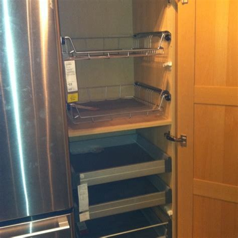 pull out shelves for kitchen cabinets ikea 1000 images about pull out shelves on pinterest under