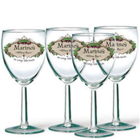 Personalized Bar Glasses Personalized Wine Bar Glasses Findgift