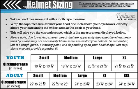 youth motocross helmet size chart atv helmet size chart amazon com youth kids offroad