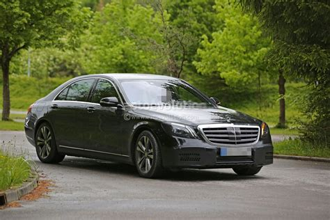 mercedes s class 2018 mercedes benz s class facelift to be revealed in