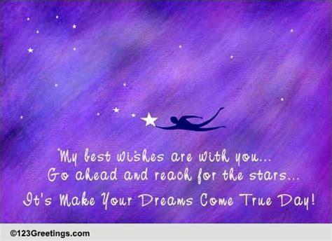 Go Reach For The Stars  Free Make Your Dreams Come True