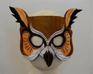 owl mask template owl mask pdf pattern by oxeyedaisey craftsy