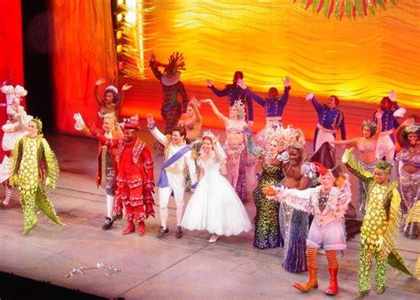 broadway curtain call the little mermaid on broadway images mermaid finale
