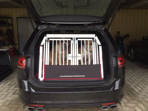 Hundetransportbox Auto by Hundetransportboxen F 252 R Vw Faustmann Hundeboxen