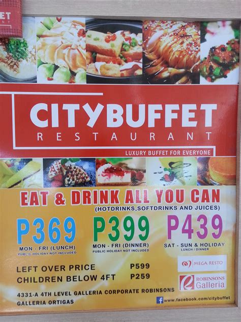 Affordable Luxury Buffet At City Buffet Robinsons City Buffet
