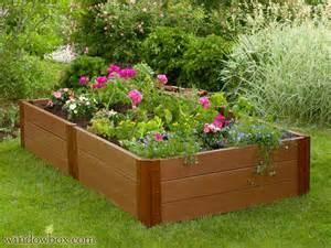 Hayrack Window Box - raised vegetable gardening bed planter box windowbox com