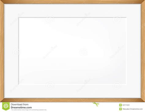 vector blank of photo frame stock vector image 53771251