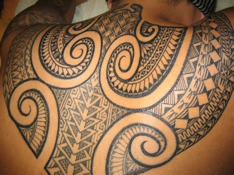 fijian tattoo designs back by fiji pacific tattoos
