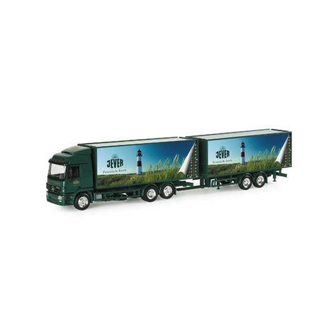 Truck Mercedes Actros M Recycle Skala 1 87 Majorette Diecast mercedes lastbil m s 230 ttevogn jever 248 l