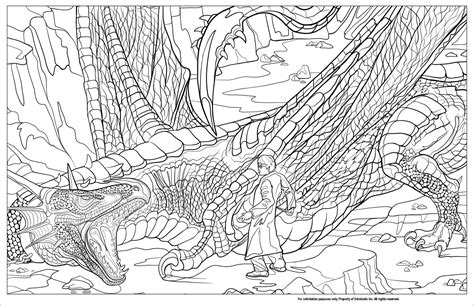 harry potter coloring book colored peek inside the next harry potter coloring book