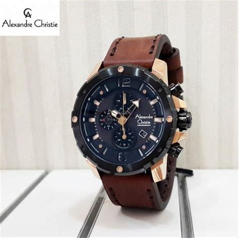 jual jam tangan pria alexandre christie original swiss