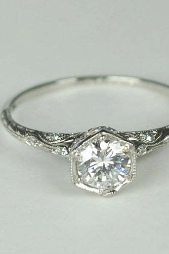 Wedding Rings Vintage Style by Best 25 Vintage Engagement Rings Ideas On