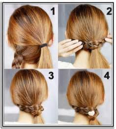 easy hairstyles updos for medium length hair how to do easy updos for medium length hair and