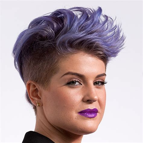 what product is used to color kelly osborne hair rainbow hair how to rock the trend like a celeb