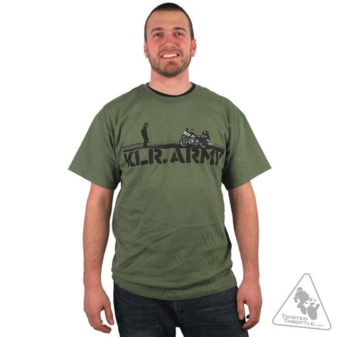 Tshirt Line Friends 107 Olive twisted throttle klr army olive drab discontinued