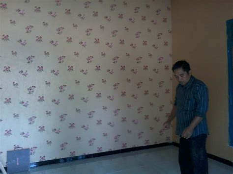 wallpaper ruang tamu motif wallpaper modern minimalis ask home design