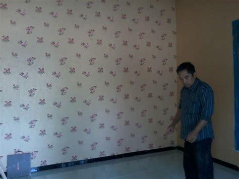 pemasangan wallpaper  dente indo lampung rumah