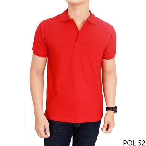 Kaos Kerah Polo Kuda Warna polo polos murah warna merah kaos kerah polos murah warna merah cabe polo for pakaian