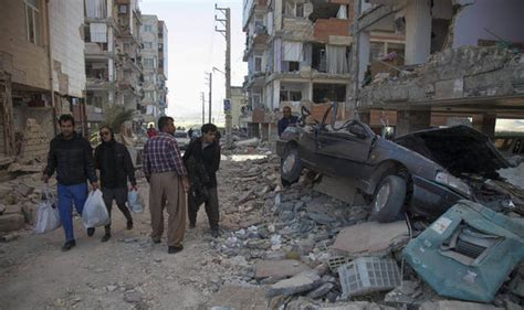 earthquake news iran iraq earthquake damage in pictures today as hundreds