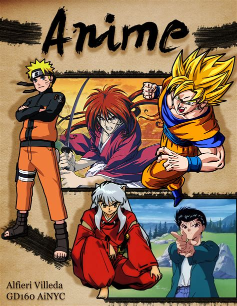 Poster Anime Poster Live anime themed collage poster by 22greenalfs on deviantart