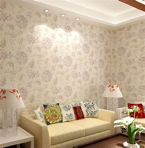 floral wallpaper designs for living room house prices in china picture more detailed picture about vintage floral wallpaper