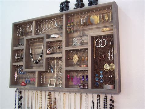 how to make jewelry organizer wall mount jewelry organizer style guru fashion glitz