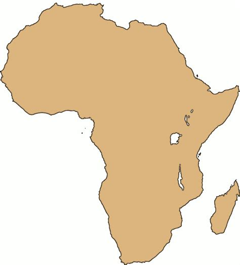 africa map clipart africa large clip