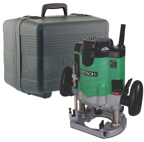 Router Hitachi hitachi m12ve 110v 1 2 quot variable speed plunge router and 2000w buyaparcel