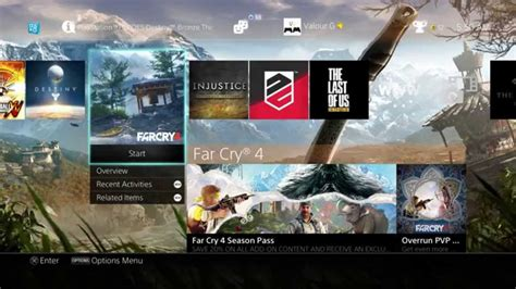 ps4 themes far cry 4 far cry 4 kukri ps4 dynamic theme youtube