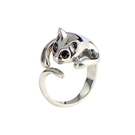 cat themed accessories cat rings earrings scarfs