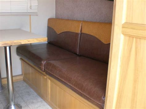 reupholster rv couch reupholstered rv benches kirkham upholstery