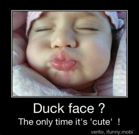 So Cute Meme Face - cute duck face baby stupid fish face pinterest