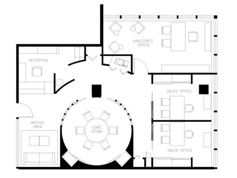 House Plans With Office by Best 25 Office Floor Plan Ideas On Office